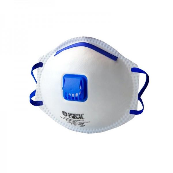 FFP2 Atemschutzmaske mit Ventil (vorgewölbt, Modell GD7020V) 3410
